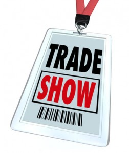 Trade Show Convention Badge Register for Conference or Event