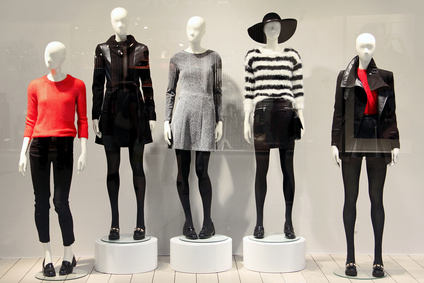 Trade Show Display - mannequins in a clothing store