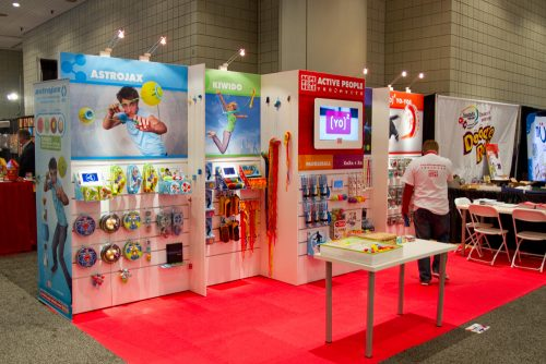 10x30 Slatwall Trade Show Exhibit