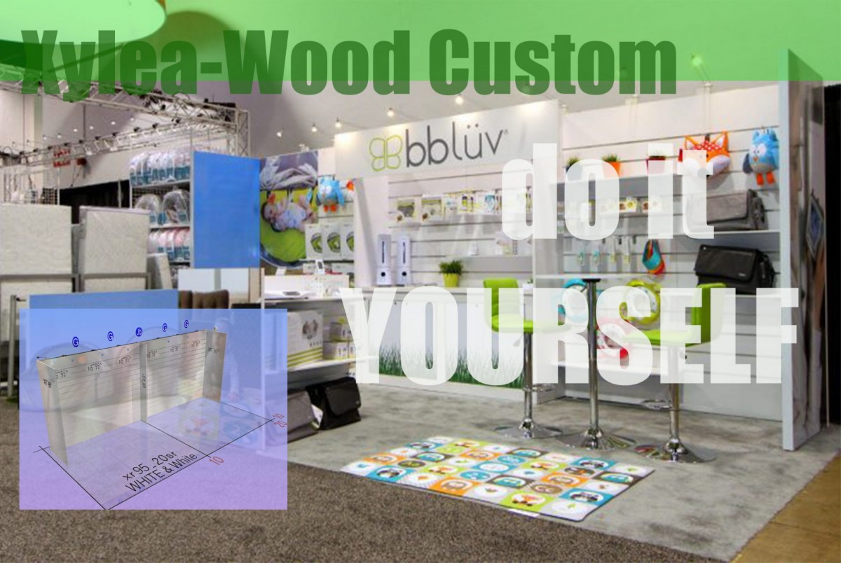 Xylea Wood Affordable DIY Slatwall Displays